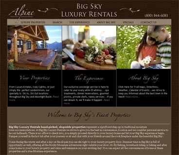 Big Sky Luxury Vacation Rentals